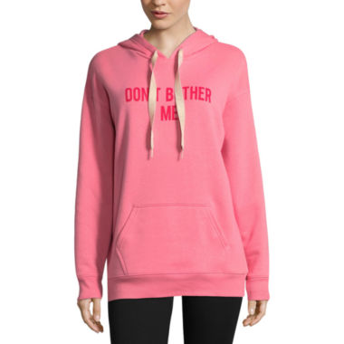 "Flirtitude ""Don't Bother Me"" Sweatshirt-Juniors"