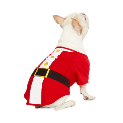 North Pole Trading Co. Santa Pet Costume