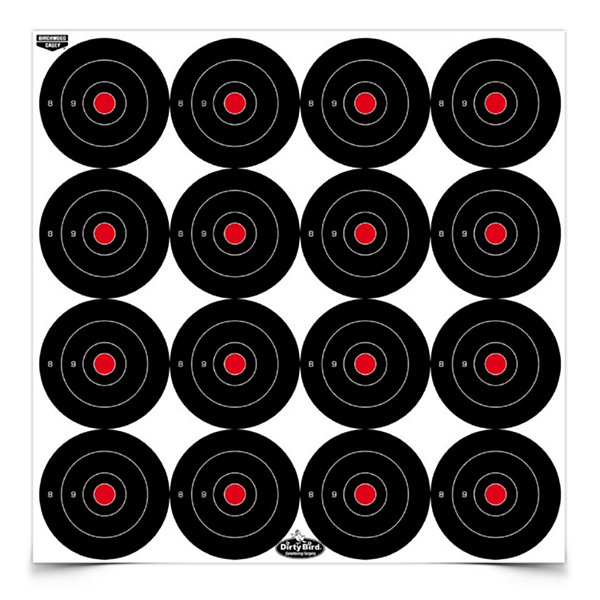 Birchwood Casey Dirty Bird 3In Round Target-100 Targets
