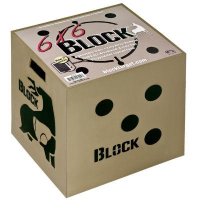 "Block 6X6 Sided Archery Target-18""X18""X16"""