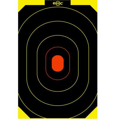 "E-Zee-C 10""X15"" Silhouette Target-60 Targets"""