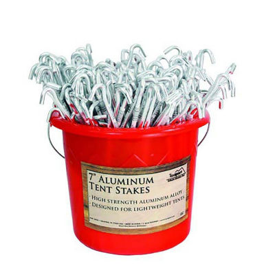 14958 200-PC Set Tent Peg Aluminum Packed 200/Cs.