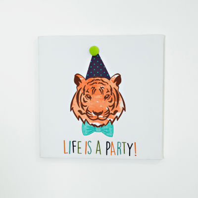 Frank And Lulu Life Is A Party Canvas Art