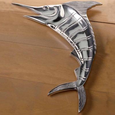 "St. Croix Trading Kindwer Large 20"" Casted Aluminum Marlin Platter"