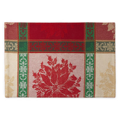 North Pole Trading Co. Festive Christmas 4-pc. Placemat