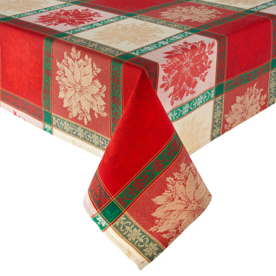 North Pole Trading Co. Festive Christmas Tablecloth