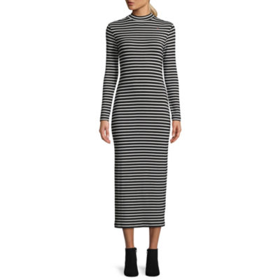 Tracee Ellis Ross for JCP Kindness Long Sleeve Mock Neck Bodycon Dress