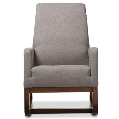 Baxton Studio Yashiya Rocking Chair