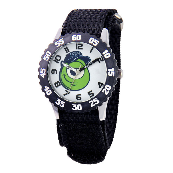 Disney Mike Monsters University Kids Time Teacher Black Watch