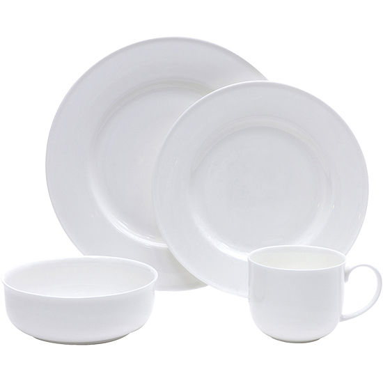 4-pc. Bone China Dinnerware Set
