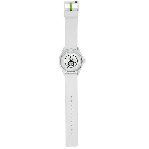 Q&Q SmileSolar White Sport Strap Watch
