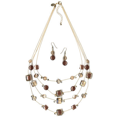 Mixit Womens 2-pack Necklace Set