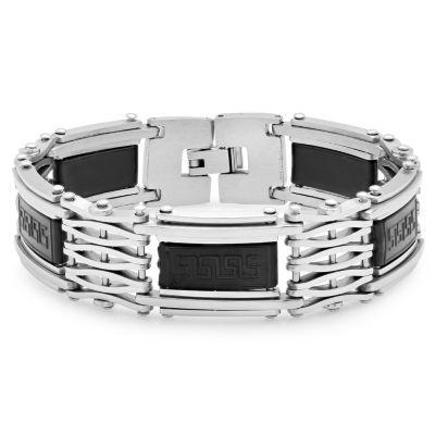 Steeltime Mens 8 Inch Link Bracelet