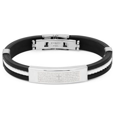 Stainless Steel 8 Inch Solid Id Bracelet
