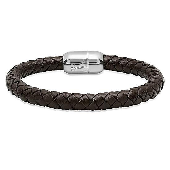 Steeltime Mens Wrap Bracelet