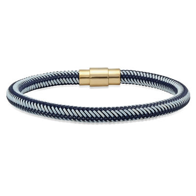 Steeltime Mens 18K Wrap Bracelet