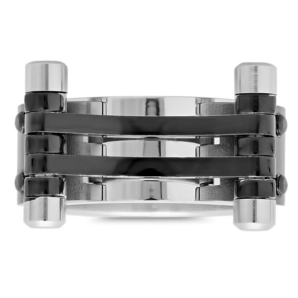 Steeltime Mens Stainless Steel Band