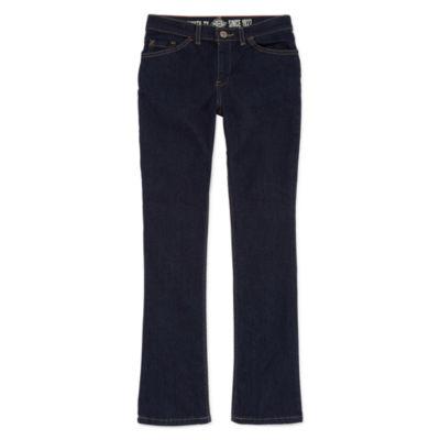 Dickies Girls Slim Fit Boot Cut 5-Pocket Denim Jean Girl's 7-16