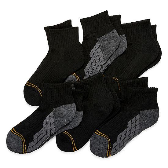 Goldtoe® Boys' Ultra Tec Quarter Socks 6-Pack
