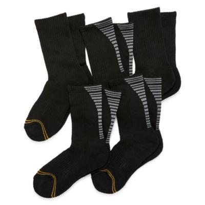 GoldToe 5-pk. Ultra Tec Crew Socks- Boys