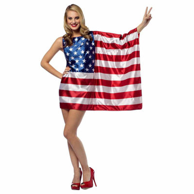 USA Flag Adult Dress - One Size Fits Most