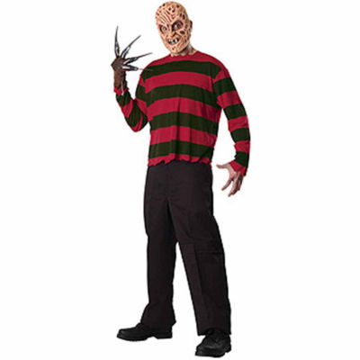 A Nightmare On Elm Street - Freddy Krueger Adult Costume Kit - One Size