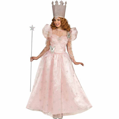 Wizard Of Oz Deluxe Glinda The Good Witch Womens Costume