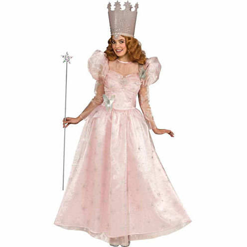 Wizard Of Oz Deluxe Glinda the Good Witch Adult Costume - One Size Fits Most