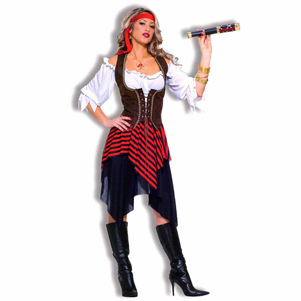Sweet Buccaneer Adult Costume - One Size Fits Most