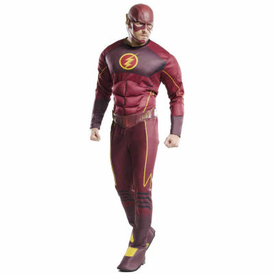 The Flash Muscle Chest Costume For Adults - One Size Fits Most