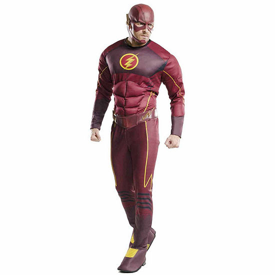 The Flash Muscle Chest Costume For Adults One Size Fits Most