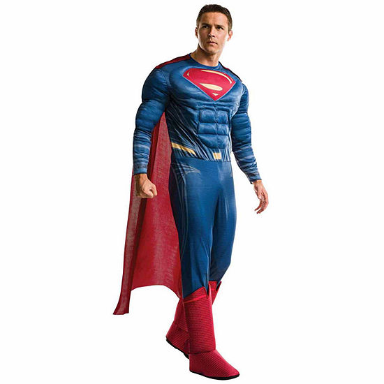Batman V Superman Dawn Of Justice Deluxe Adultsuperman Costume One Size