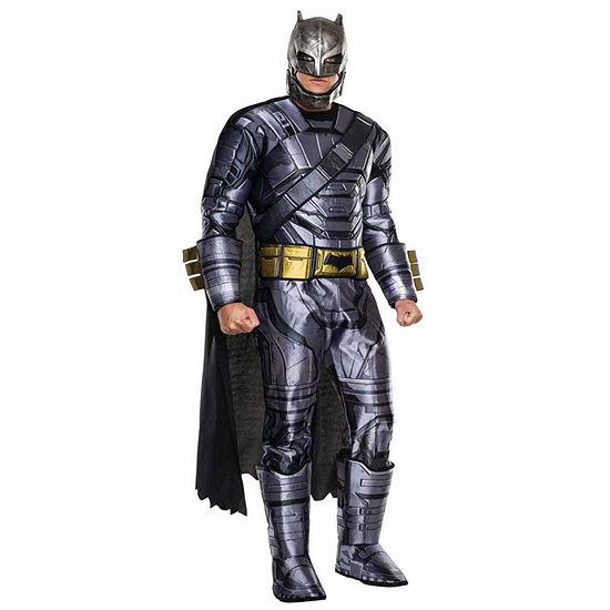 Batman v Superman: Dawn of Justice - Mens Deluxe Armored Batman Costume