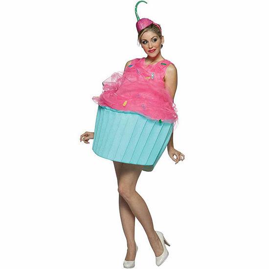 Sweet Eats Cupcake Adult Costume