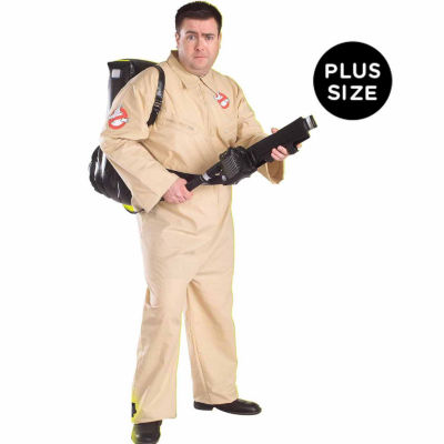 Ghostbusters Adult Plus Costume - Plus