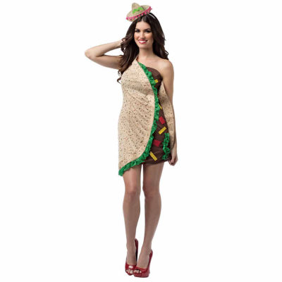 Spicy Womens Taco Dress Costume - One-Size