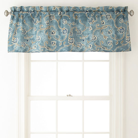 JCPenney Home Belcourt Rod-Pocket Valance