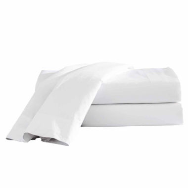 Hotel 24pc Cotton Blend Easy Care Fitted Sheet