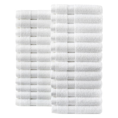 JCPenney Home™ Commercial Set of 24 Washcloths