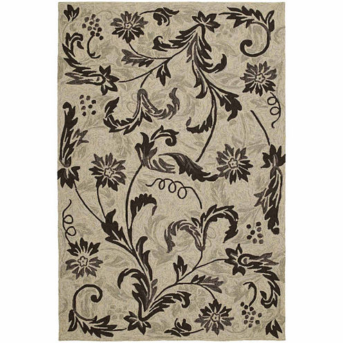 Kaleen Home And Porch Vines Hand Tufted Rectangular Rugs