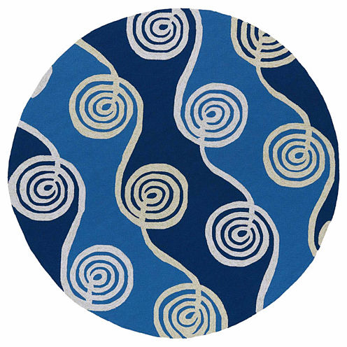 Kaleen Home And Porch Waves Hand Tufted Rectangular Rugs