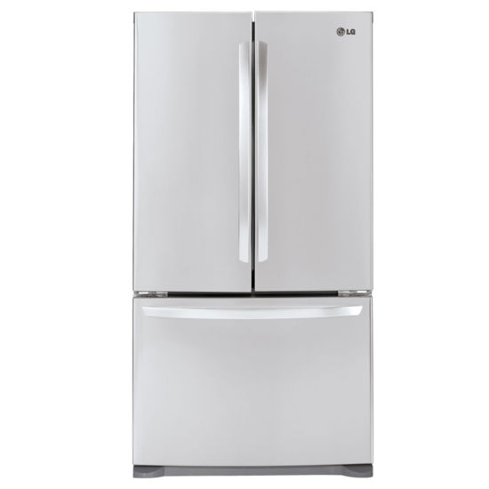 LG ENERGY STAR® 20.9 cu. ft. Large Capacity 3-Door French Door Refrigerator