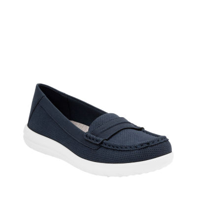Clarks Womens Jocolin Maye Slip-On Shoe Closed Toe