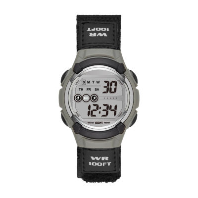 Womens Black Strap Watch-Fmdjo103