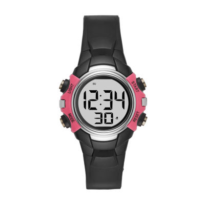 Womens Black Strap Watch-Fmdjo104