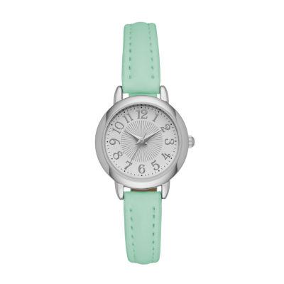 Womens Green Strap Watch-Fmdjo111