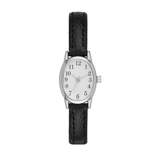 Womens Black Strap Watch-Fmdjo114