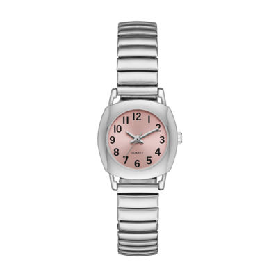 Womens Silver Tone Expansion Watch-Fmdjo117