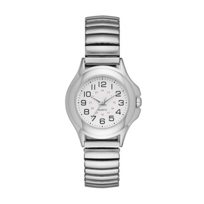 Womens Silver Tone Expansion Watch-Fmdjo118