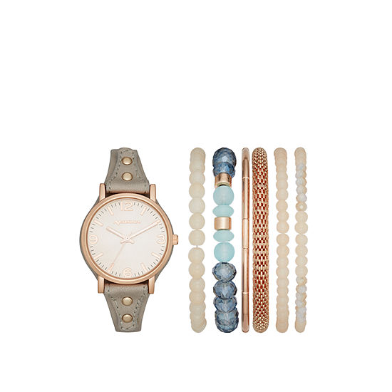Arizona Womens Gray Watch Boxed Set-Fmdarz157